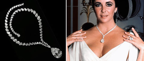 Taylor-Burton Diamond Necklace