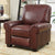 Top Grain Leather Recliner