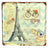 Metal Wall Art Modern Art Painting For Home Decor Hang Abstract Eiffel Tower