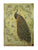 Peacock Nostalgic Retro Kraft Paper Poster Decorative Painting B