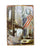 [Statue of Liberty] Wall Decoration Tin Metal Drawing Vintage Retro Prints