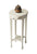 Accent Table Cottage White Light