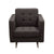 Diamond Sofa Home Furniture Opus Tufted Chair Chocolate