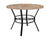 "Tremont 42"""" Round Dining Table in Quartz Marble-Like Finish"