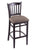 "3120 30"""" Stool with Black Finish, Axis Truffle Seat"