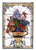 "24""""W X 36""""H Floral Arrangement Stained Glass Window"