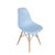 Paris Tower Side Chair Wood Leg 2-Pack 2-Pack - Blue