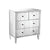 Sterling Home Decor Chatelet Chest In Clear Mirror Finish