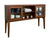 "WE Furniture 52"""" Hepworth Wood Buffet with Tapered Legs - Walnut"