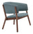 Chapel Lounge Chair Blue (Set of 2)