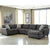 Benchcraft Sorenton 3-Piece LAF Sofa Sectional in Fabric