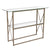 Mar Vista Collection Console Table with Metal Frame