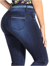 Load image into Gallery viewer, Olivia | High Skinny Frayed Ankle Shaper Jeans