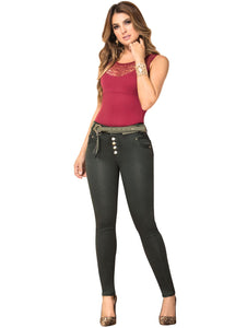 Jamie | High Skinny Coloured Shaper Jeans