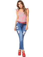 Load image into Gallery viewer, Alexis | Regular Waist Skinny Acid Washed Shaper Jeans