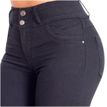 Load image into Gallery viewer, Everly | Regular Skinny Black Shaping Jeans