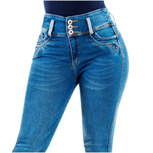 Load image into Gallery viewer, Willow | High Skinny Blue Shaping Jeans
