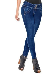 Eve | Mid Rise Skinny Shaping Jeans