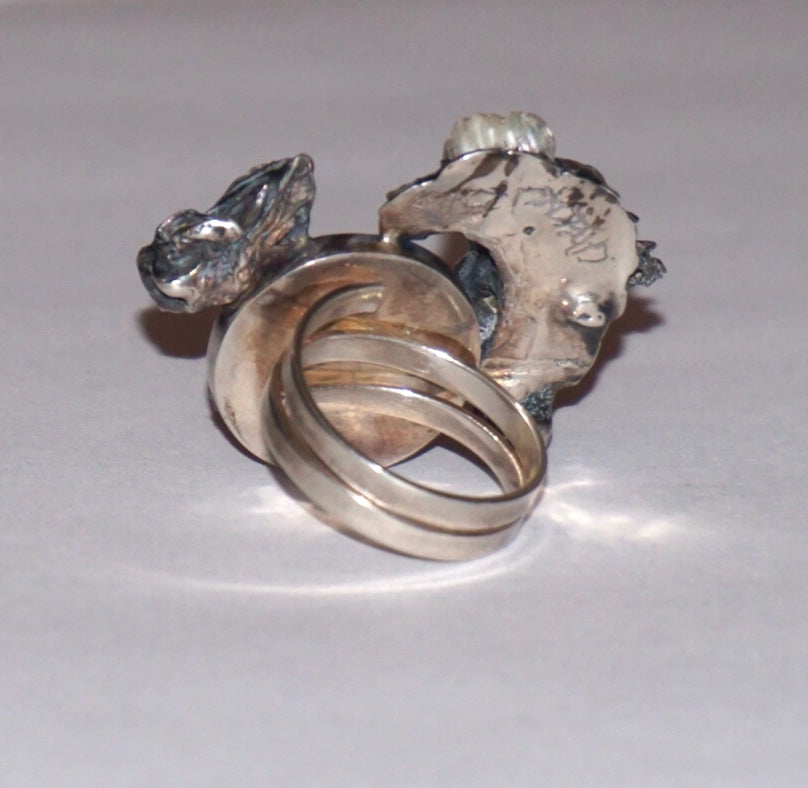 Onix Adjustable Ring