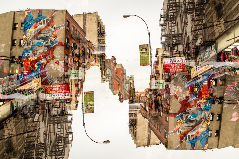 Alex Korolkovas - New York Upside Down 14 Plexiglass