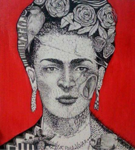 Luciana Gomez - Red Frida