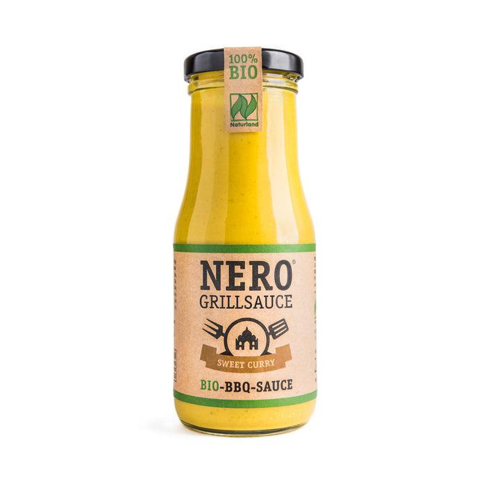 NERO GRILLSAUCE – SWEET CURRY