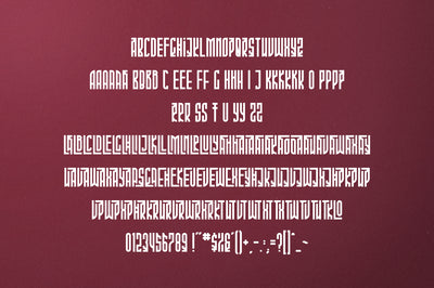 Phoeniks - Display font