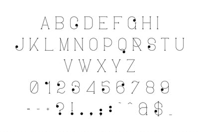 Ravenside-high end trio font