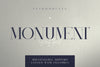 Monument - All Caps Serif Font