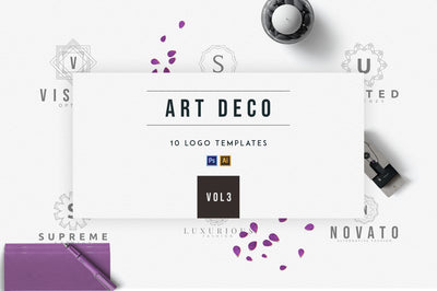 Art Deco Logo Templates | Vol.3