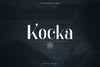 Kocka Display Font