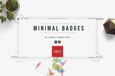Minimal Badges | vol.2