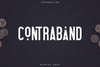 Contraband - Display font -  Free Demo