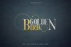 Golden Bird Serif font - Free Demo