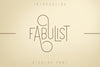 Fabulist - Display font