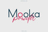 MOOKA POWDER - FONT DUO - Free Demo