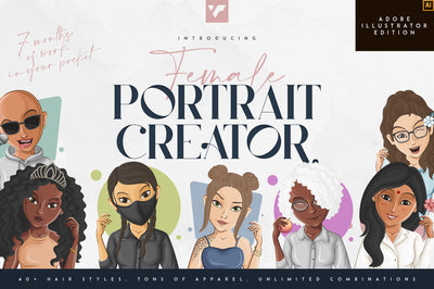 Female Portrait Creator - Ai edition
