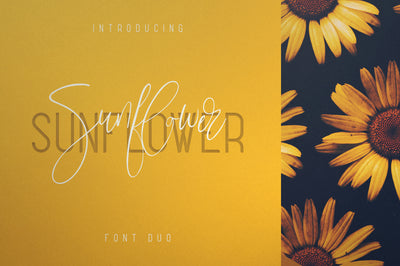 Sunflower - Font Duo