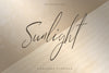 Sunlight - Signature typeface - Free Demo