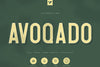 Avoqado - All Caps Sans Typeface