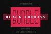 Black Fridays Bundle -97%