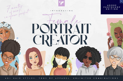 Female Portrait Creator - PS edition