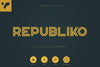 Republiko - Display Typeface