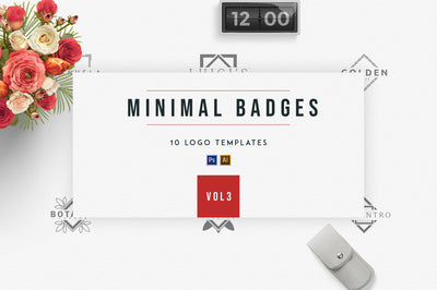 Minimal Badges | vol.3