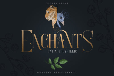 Enchants - Latin and Cyrillic font support