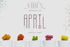 [Spring Vibes] April Display Font