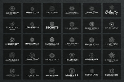 Mega Bundle - 600 Logo Templates