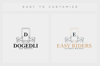 32 Art Deco Logo Templates
