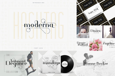 The Font Duo Collection | 8in1