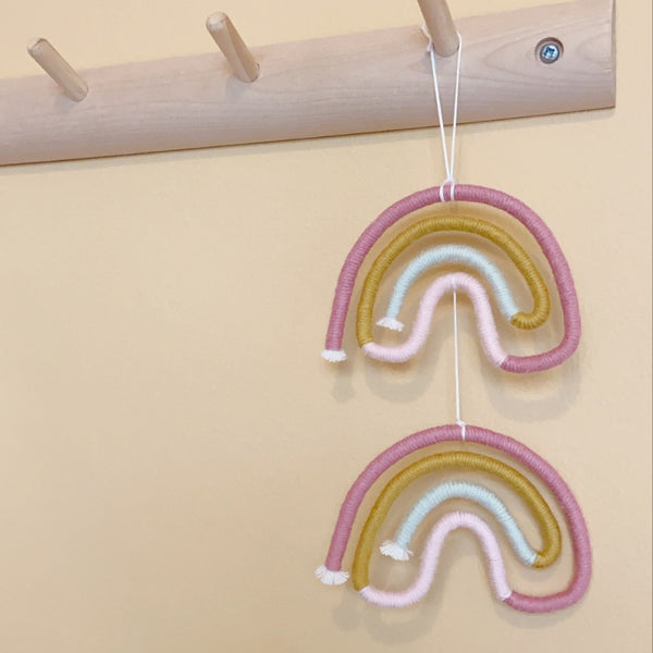 Mini Yarn Rainbow Hanging